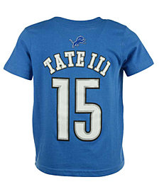 Outerstuff Golden Tate Detroit Lions Mainliner Player T-Shirt, Toddler Boys