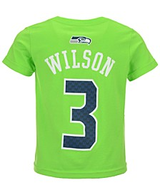 Russell Wilson Seattle Seahawks Mainliner Player T-Shirt, Toddler Boys' (2T-4T)