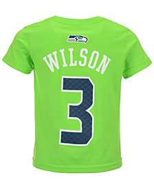 Outerstuff Russell Wilson Seattle Seahawks Mainliner Player T-Shirt, Toddler Boys' (2T-4T)