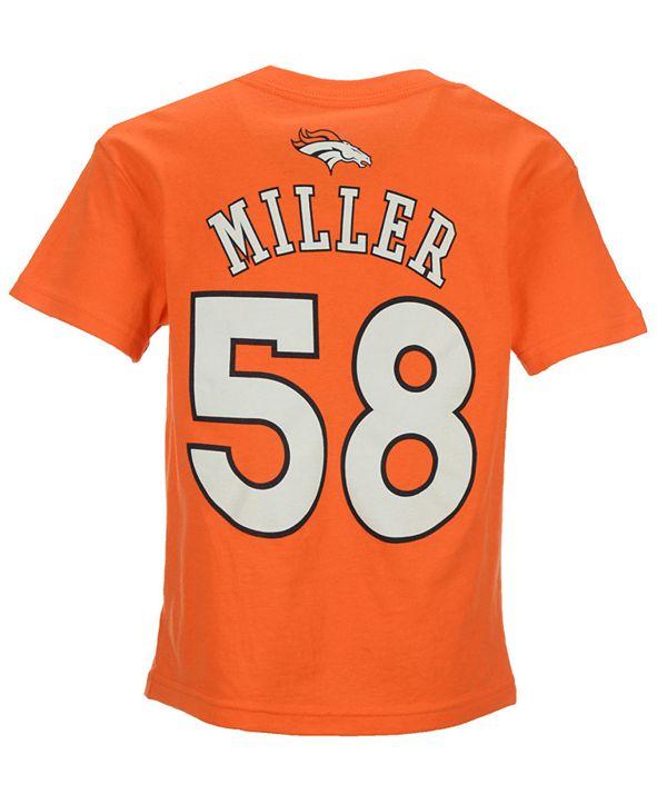 Outerstuff NFL Von Miller T-Shirt, Little Boys (4-7)