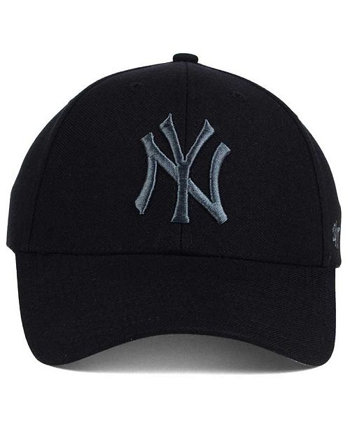 the latest 2fc19 1cfe5 ... real 47 brand new york yankees mvp black and charcoal cap sports fan  shop by lids
