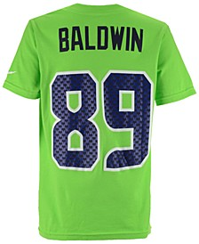 Doug Baldwin Seattle Seahawks Pride Name and Number T-Shirt, Big Boys (8-20)