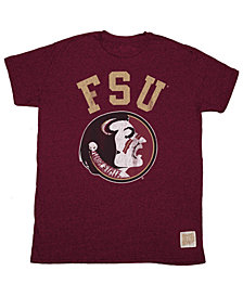 Retro Brand Under Armour  Florida State Seminoles Mock Twist T-Shirt, Big Boys (8-20)