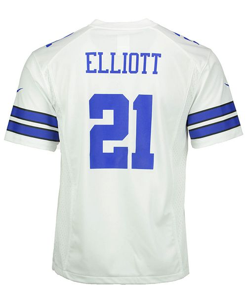 best sneakers 0f11f 5da54 Ezekiel Elliott Dallas Cowboys Game Jersey, Big Boys (8-20)