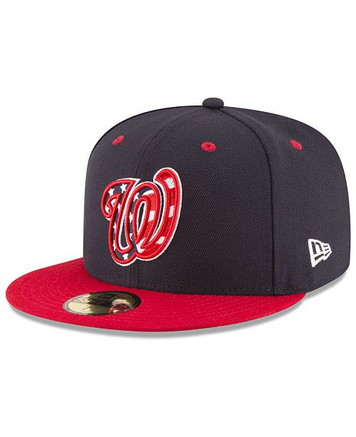 26665855eac New Era. Washington Nationals Authentic Collection 59FIFTY Cap. Be the  first to Write a Review.  37.99