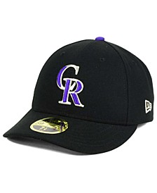 Colorado Rockies Low Profile AC Performance 59FIFTY Cap
