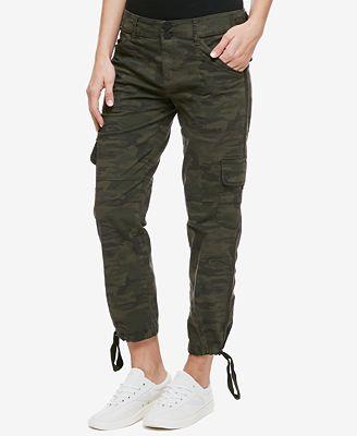 Sanctuary Terrain Camo-Print Cargo Pants - Pants - Women - Macy's