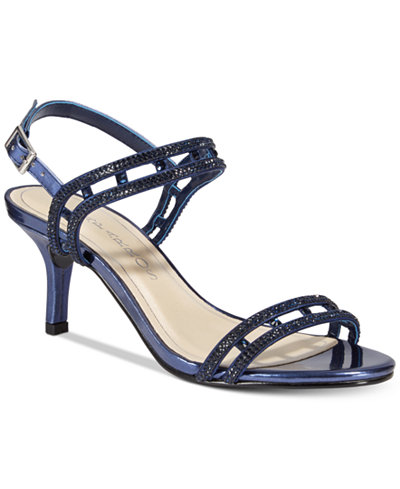 Caparros Happy Embellished Strappy Evening Sandals