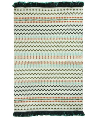 "Razzel 27"" x 45"" Cotton Accent Rug"
