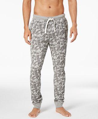 Bar III Men's Camo-Print Cotton Pajama Pants, Created for Macy's ...