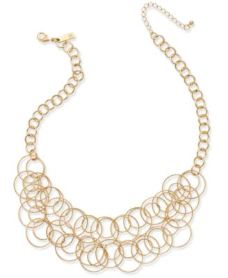 Image of INC International Concepts Multi-Circle Statement Necklace, Only at Macy's