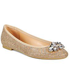 Jewel Badgley Mischka Cabella Evening Flats