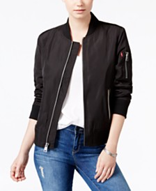 Levi's® Zip-Detail Bomber Jacket