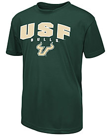 Colosseum  South Florida Bulls Mesh Poly T-Shirt, Big Boys (8-20)