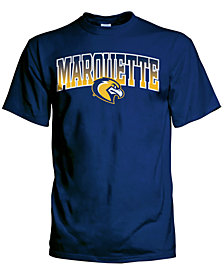 J America Men's Marquette Golden Eagles Gradient Arch T-Shirt