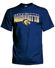 J America Men's Marquette Golden Eagles Gradient Arch T-Shirt