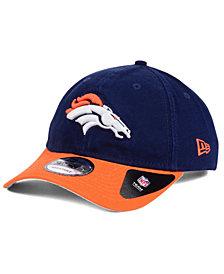 New Era Denver Broncos Relaxed 2Tone 9TWENTY Strapback Cap