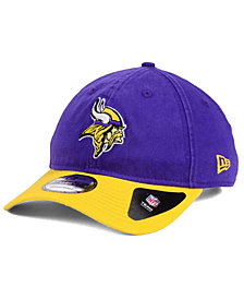 New Era Minnesota Vikings Relaxed 2Tone 9TWENTY Strapback Cap