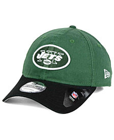 New Era New York Jets Relaxed 2Tone 9TWENTY Strapback Cap