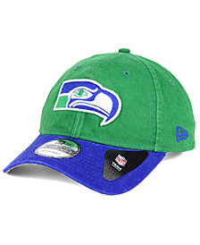 New Era Seattle Seahawks Relaxed 2Tone 9TWENTY Strapback Cap