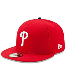 Philadelphia Phillies Authentic Collection 59FIFTY Cap