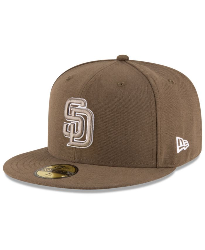 New Era San Diego Padres Authentic Collection 59FIFTY Cap & Reviews - Sports Fan Shop By Lids - Men - Macy's