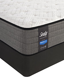 "Sealy Posturepedic Plus Shore Drive 11"" Extra Firm Mattress Set- California King"
