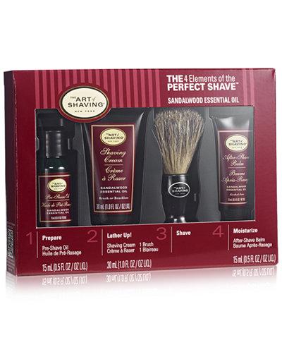 The Art of Shaving Sandalwood Starter Kit