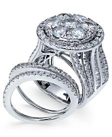 Diamond Bridal Set (6 ct. t.w.) in 14k White Gold