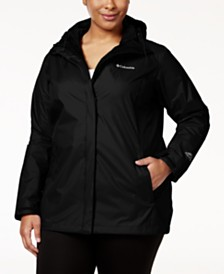 Columbia Plus Size Waterproof Arcadia Jacket