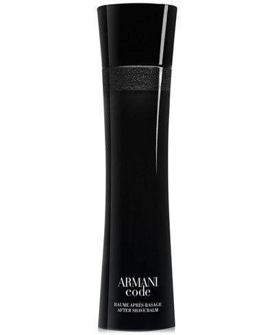 Giorgio Armani Armani Code After Shave Balm, 3.4 oz.