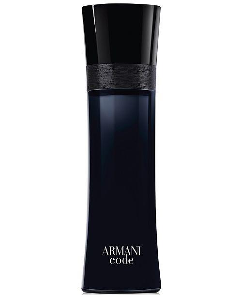 aabd9a6d01e Giorgio Armani Armani Code for Men Eau de Toilette Spray