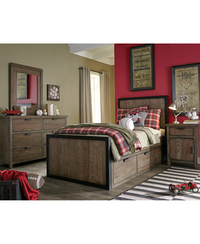Fulton County Kids Bedroom Furniture Collection - Furniture - Macy\'s