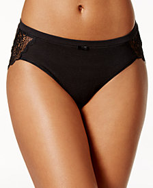 Bali Cotton Desire Sheer Lace Hipster DFCD63