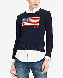 Polo Ralph Lauren Cotton Polo Sweater