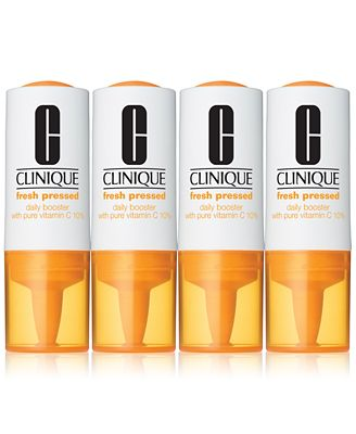 Clinique Fresh Pressed Vitamin C Daily Booster, 4 vials
