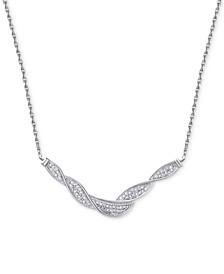Diamond Swirl Collar Necklace (1/4 ct. t.w.)