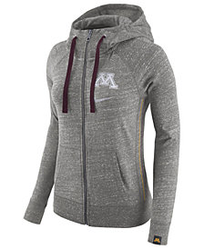 Nike Women's Minnesota Golden Gophers Vintage Full-Zip Hoodie
