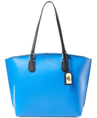 Image of Lauren Ralph Lauren Lauderdale Smooth Tanner Medium Tote