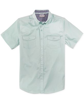 Astronomy Men's Calico Woven Shirt