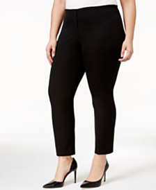 Alfani Plus Size Cropped Pants, Created for Macy's