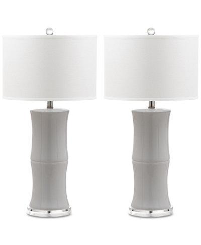 Safavieh Set of 2 Ceramic Table Lamps