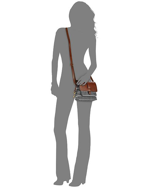 Fossil Kinley Small Crossbody - Handbags   Accessories - Macy s 4218bb97868bb