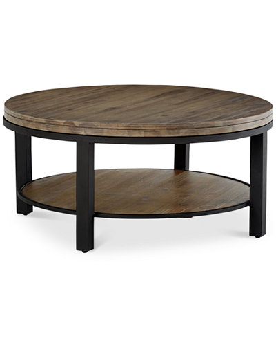 Canyon Round Coffee Table Created For Macy S