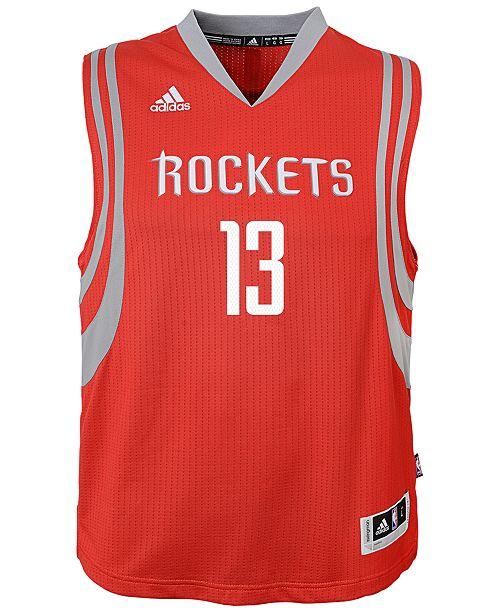 dc24b6bec215 adidas James Harden Houston Rockets New Swingman Jersey