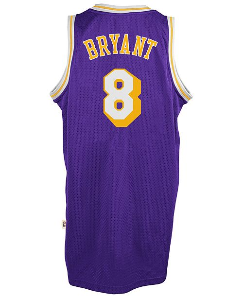 bcb586a52 adidas Men s Kobe Bryant Los Angeles Lakers Retired Player Swingman Jersey  ...