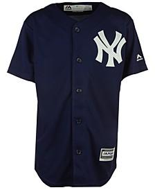 New York Yankees Blank Replica Jersey, Big Boys (8-20)
