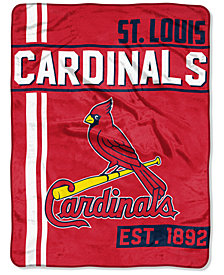 "Northwest Company St. Louis Cardinals Micro Raschel 46x60 ""Walk Off"" Blanket"
