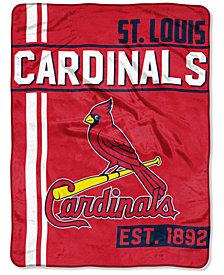 "Northwest Company St. Louis Cardinals Micro Raschel 46x60 ""Walk Off"" Blanket"