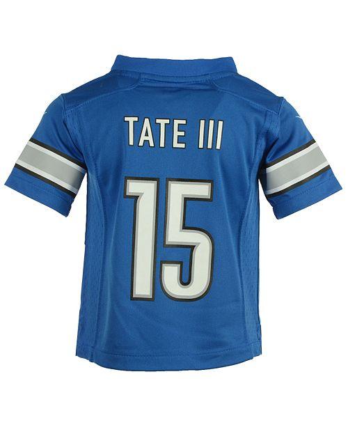 buy popular ee110 67d12 Golden Tate Detroit Lions Game Jersey, Toddler Boys
